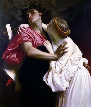 Orpheus and Eurydice by Lord Frederick Leighton