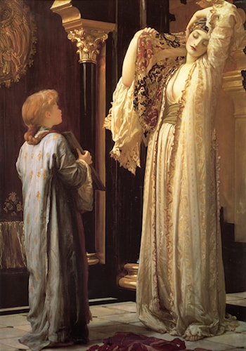 Light of the Harem by Lord Frederick Leighton