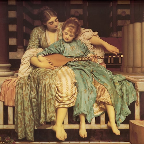 Frederick Leighton | The Music Lesson
