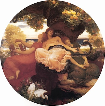 The Garden of the Hesperides by Lord Frederick Leighton