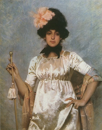 Woman of the Directoire by Charles Sprague Pearce