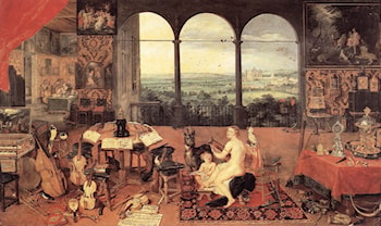The Sense of Hearing by Jan the elder Brueghel