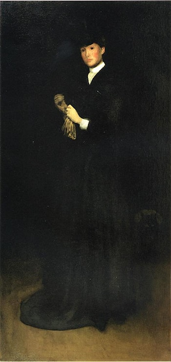 Arrangement in Black, No. 8: Portrait of Mrs. Cassatt by Joseph Rodefer de Camp