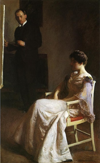 In the Studio by Joseph Rodefer de Camp