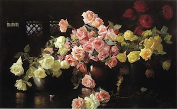 Roses by Joseph Rodefer de Camp