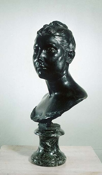 Bust of a Young Woman by Jules Dalou