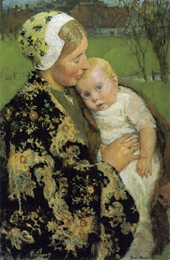 Motherhood by Gari Melchers