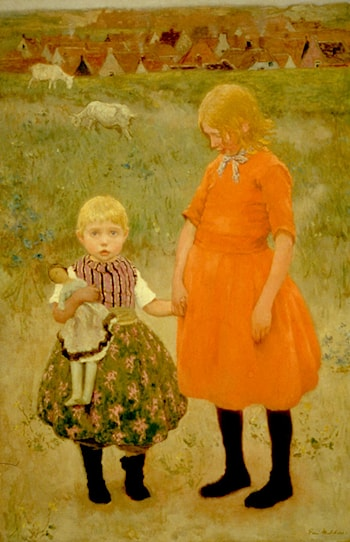 The Sisters by Gari Melchers