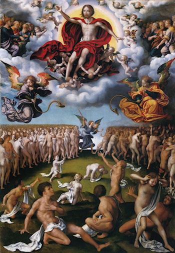 Last Judgement by Joos van Cleve