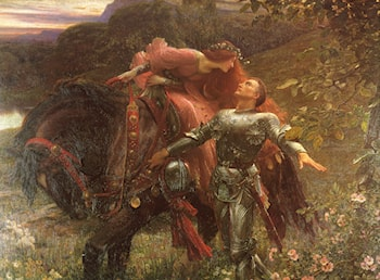La Belle Dame Sans Merci by Frank Dicksee