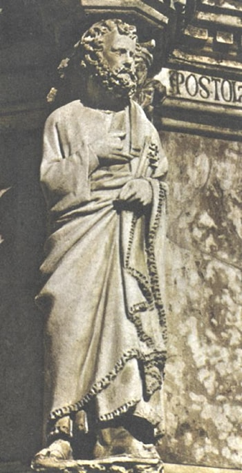A Prophet from the Fonte Maggiore by Giovanni Pisano