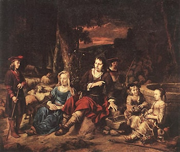 Portrait of a Family by Gerbrand van den Eeckhout