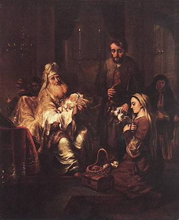 Presentation in the Temple by Gerbrand van den Eeckhout