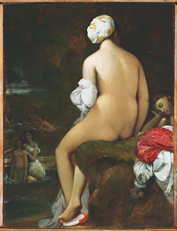The Small Bather by Jean Auguste Dominique Ingres