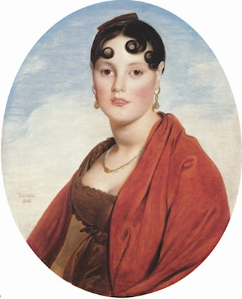 Madame Aymon, known as La Belle Zélie by Jean Auguste Dominique Ingres