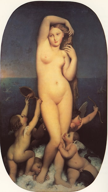 Venus Anadyomène by Jean Auguste Dominique Ingres