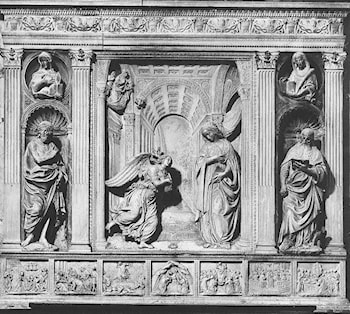 Altarpiece of the Annunciation by Benedetto Da Maiano