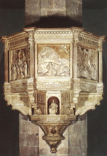 Pulpit by Benedetto Da Maiano