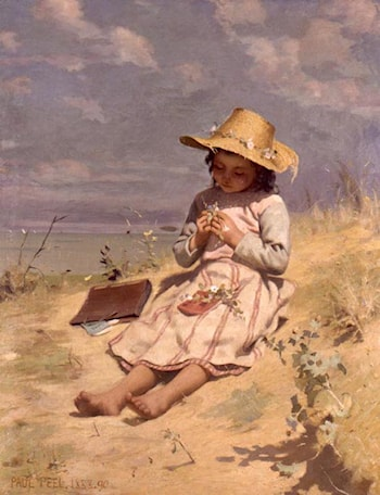 The Young Botanist by Paul Peel