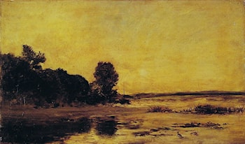 By the Sea by Charles-Francois Daubigny