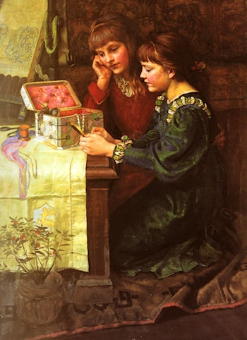 The Sewing Box by Mary L. Gow