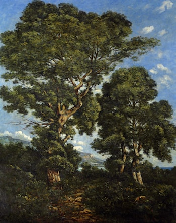 In The Forest by Henri-Joseph Harpignies