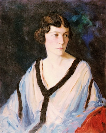 Portrait of Mrs. Edward H. (Catherine) Bennett by Robert Henri