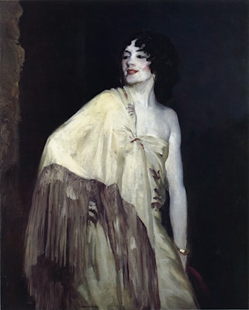 Dancer in a Yellow Shawl by Robert Henri