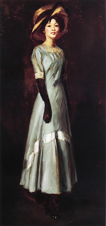 Miss Kaji Waki by Robert Henri