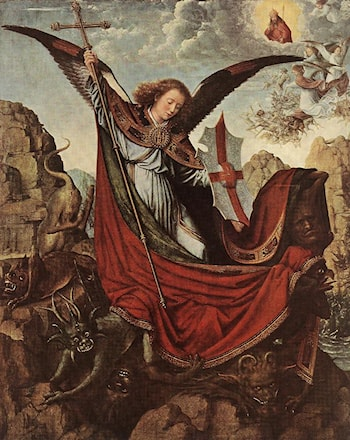 Altarpiece of St Michael by Gerard David