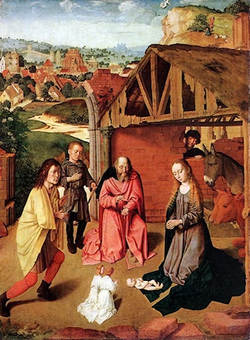The Nativity by Gerard David
