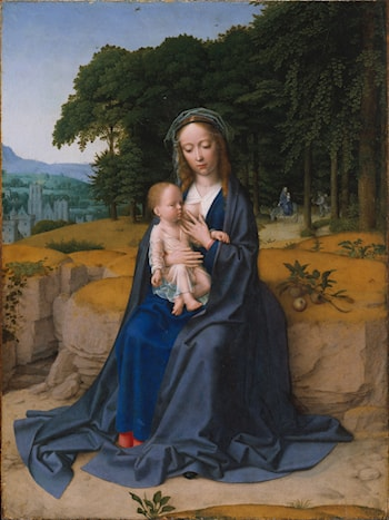 Rest on the Flight into Egypt by Gerard David
