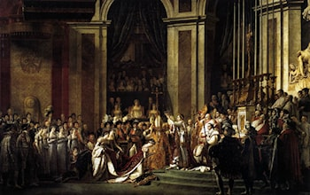 Consecration of the Emperor Napoleon I and Coronation of the Empress Josephine by Jacques-Louis David