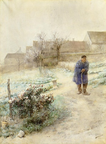 November by Carl Larsson