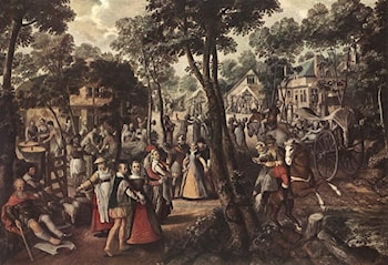 Village Feast by Joachim Beuckelaer