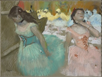Entrance of the Masked Dancers by Edgar Degas