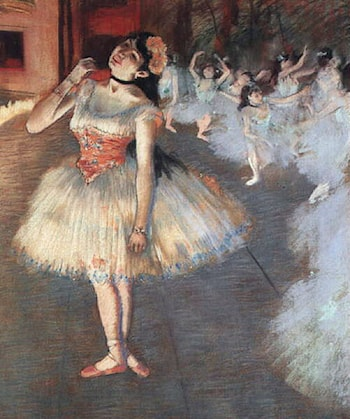 The Star by Edgar Degas