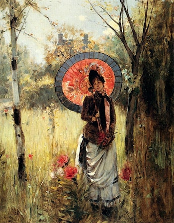 A Summer Stroll by Albert Lynch