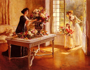 Fresh From The Garden by Albert Lynch
