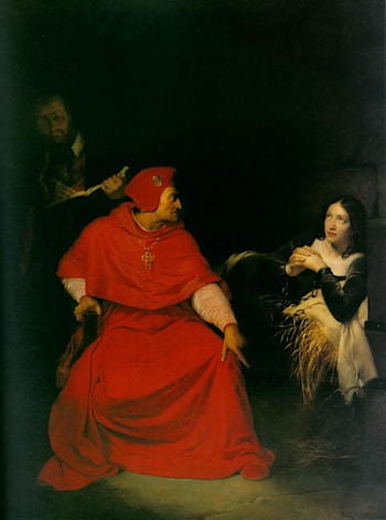 Joan of Arc in Prison by Paul Delaroche