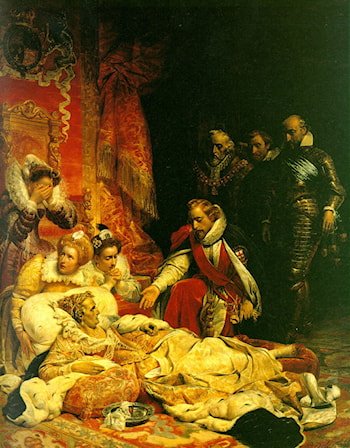 The Death of Elizabeth by Paul Delaroche