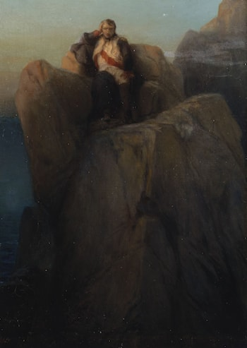 Napoleon at St Helena by Paul Delaroche