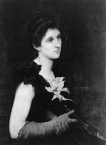 Portrait of Mrs. Charles L. Hutchinson by Jules-Elie Delaunay