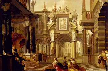 Solomon Receiving The Queen Of Sheba by Dirck van Delen