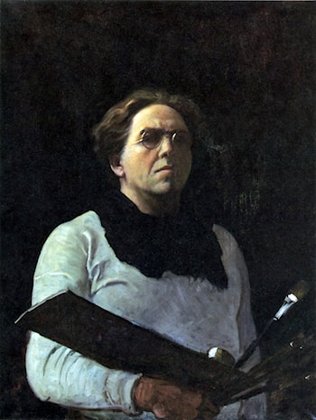 Self Portrait by Newell Convers Wyeth