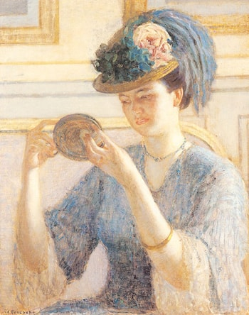 Reflections by Frederick Carl Frieseke