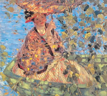 Through the Vines by Frederick Carl Frieseke