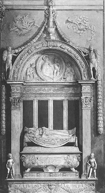 Tomb of Carlo Marsuppini by Desiderio da Settignano