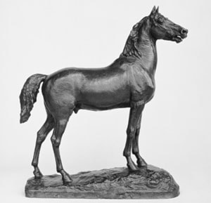 Study of the Horse for the Statue of Major General George Henry Thomas by John Quincy Adams Ward