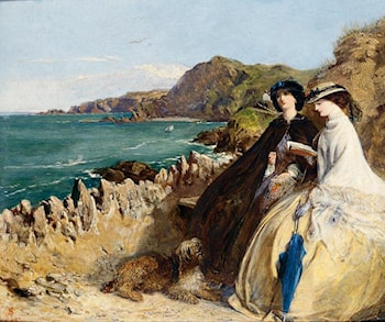 By the Seaside by Abraham Solomon